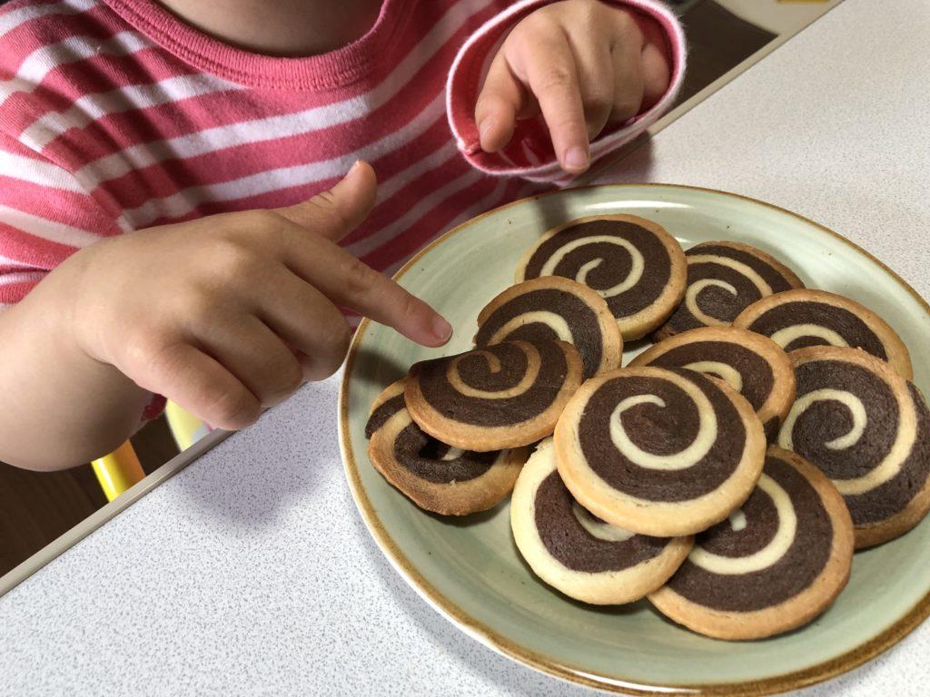 アイスボックスクッキー完成。