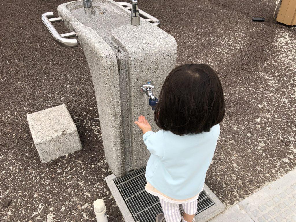 公園の手洗い場